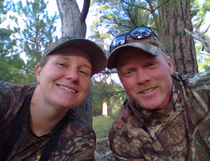 Tim and Amy Elk Hunting