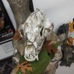 Snow Camo Bear Skull