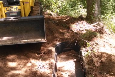 Water hole installation