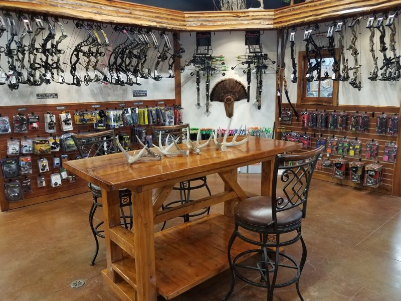 Archery Shop Interior