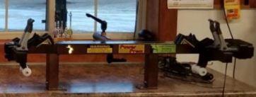 Compound bow press