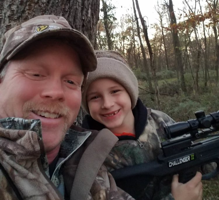 Hunter and Tim