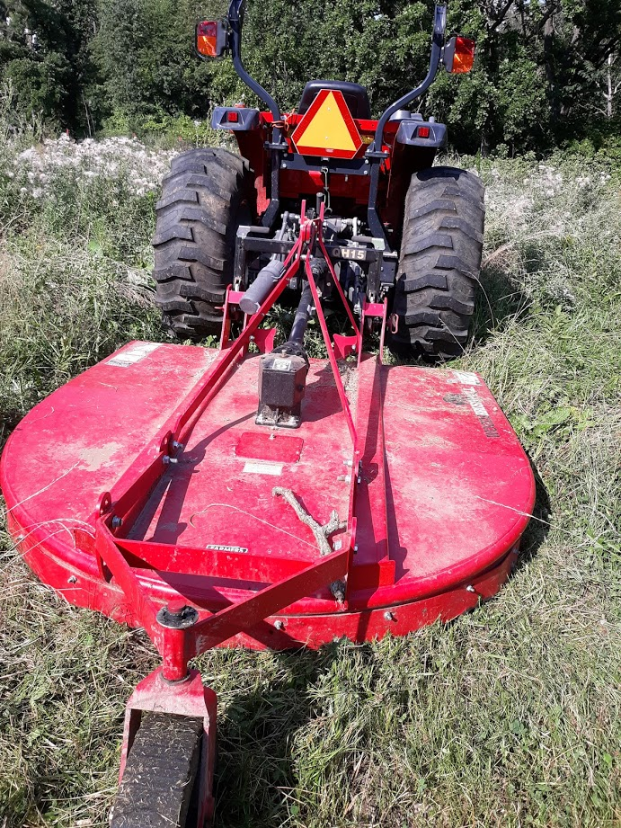 Tractor 3 point mower